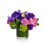 vanda orchid, moody blues rose, luxury floral gift delivery nyc, mojito hydrangea, rachel cho floral design