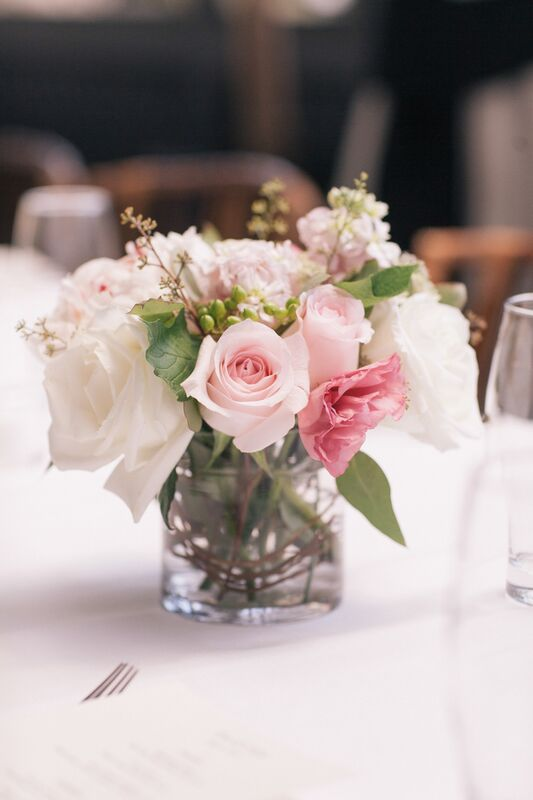 Gramercy Park Hotel wedding, organic centerpiece, Rachel Cho Floral Design