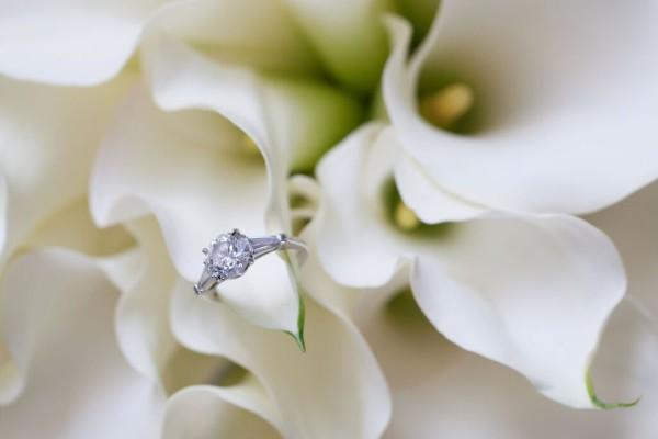 Metropolitan Pavilion NYC wedding, modern calla lily bouquet, Rachel Cho Floral Design