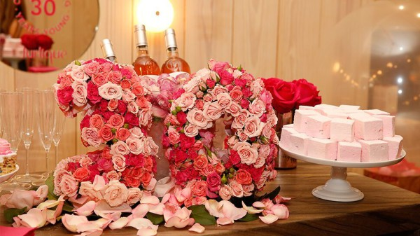 Jurlique, event flowers NYC, Rachel Cho Floral Design