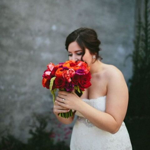 NYC wedding florist, ranunculus bridal bouquet, Rachel Cho Floral Design