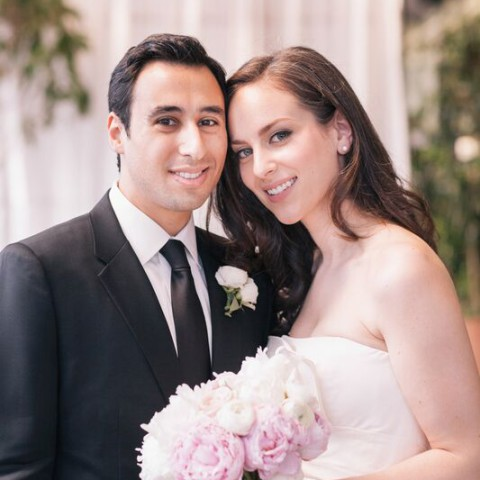 Gramercy Park Hotel wedding, peony bouquet, Rachel Cho Floral Design