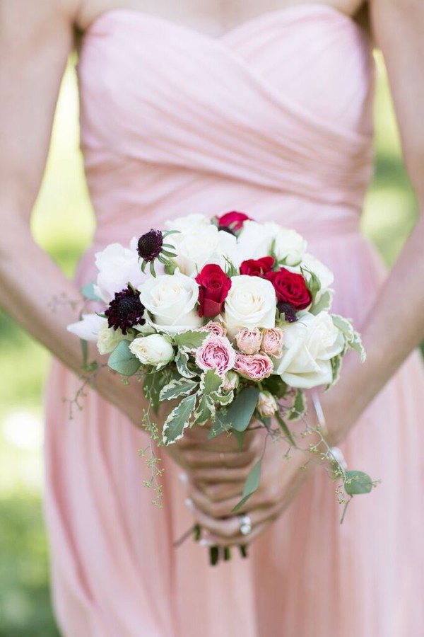 NYAC wedding, vintage wedding, bridesmaid bouquet, Rachel Cho Floral Design