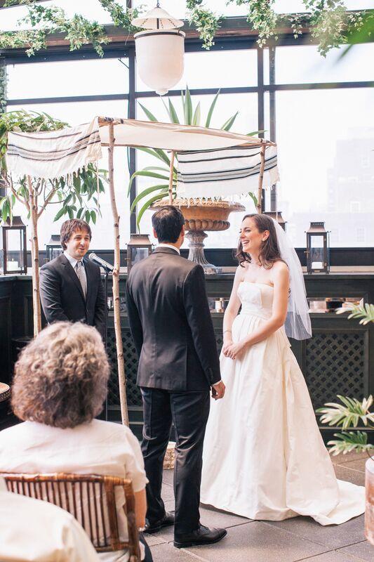 Gramercy Park Hotel, wedding chuppah NYC, Rachel Cho Floral Design