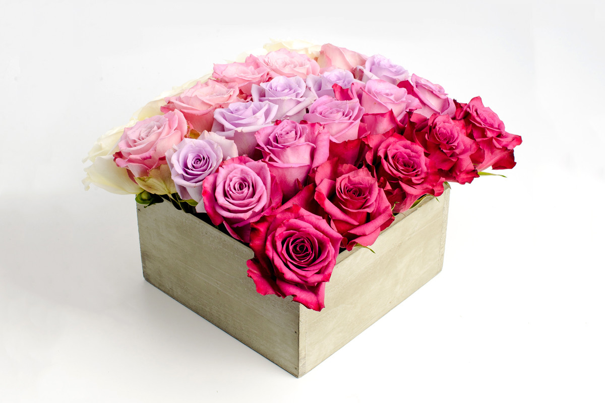 Same day flower delivery NYC, roses, Rachel Cho Floral Design
