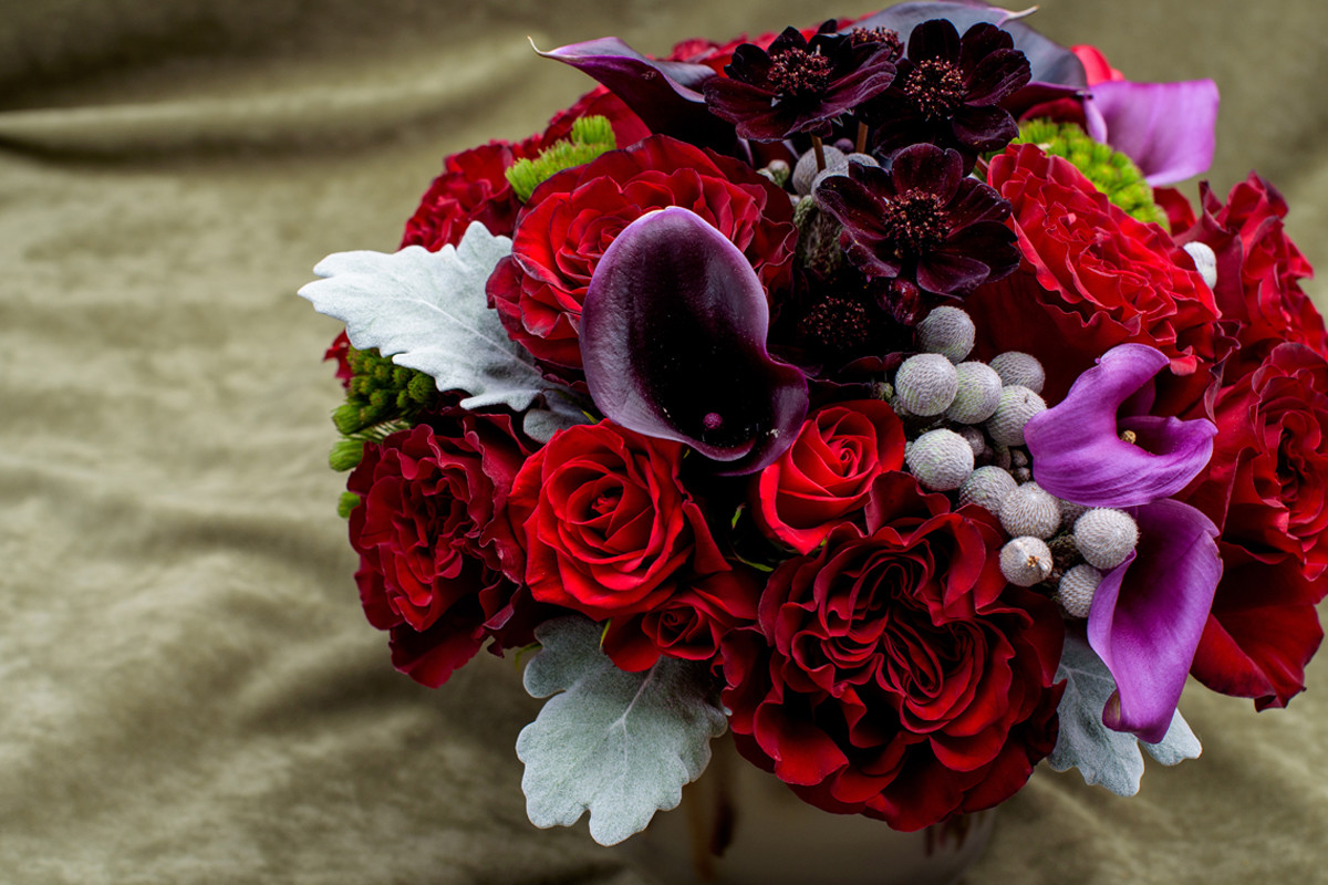 Same day flower delivery NYC, heart rose, Rachel Cho Floral Design