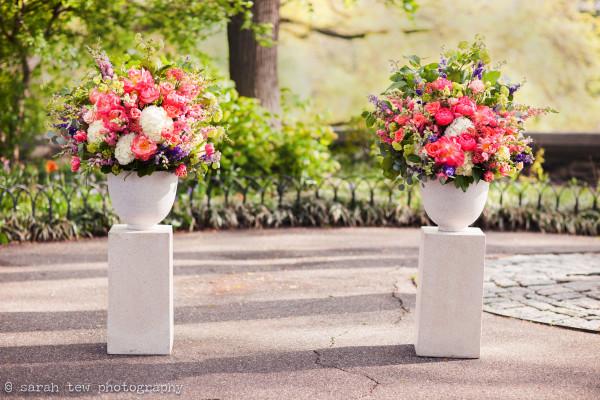 new leaf cafe wedding, fort tryon wedding, spring wedding nyc, spring wedding, rachel cho floral design