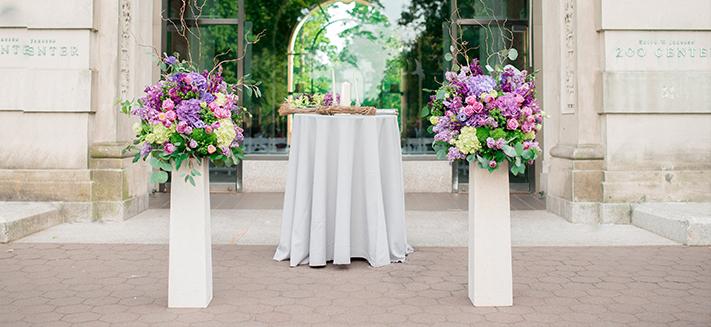 Event floral arrangements nyc rachel cho best