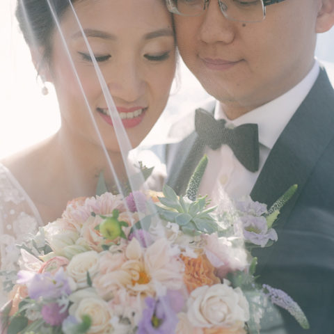 Rachel Cho Flowers | Floral Designer | wedding couple