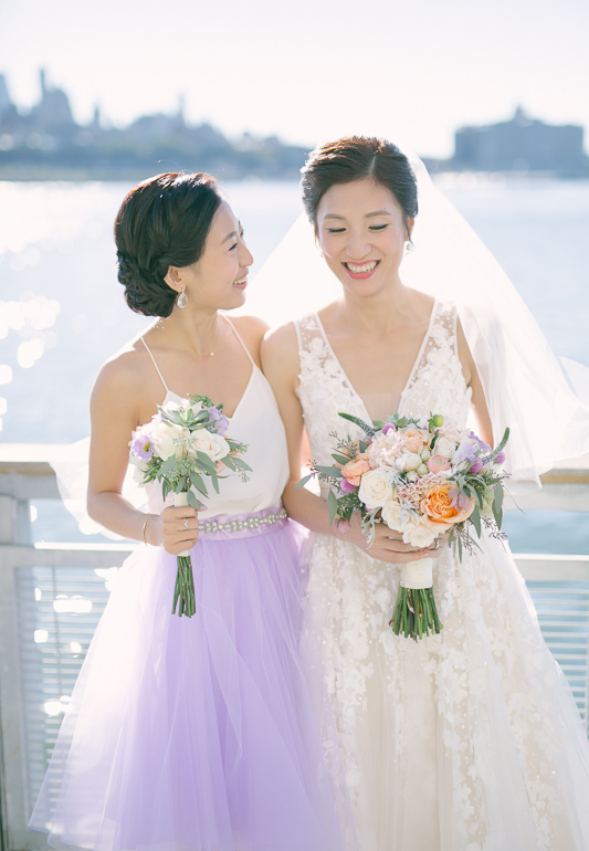 Rachel Cho Flowers | Floral Designer | bride and bridesmaid