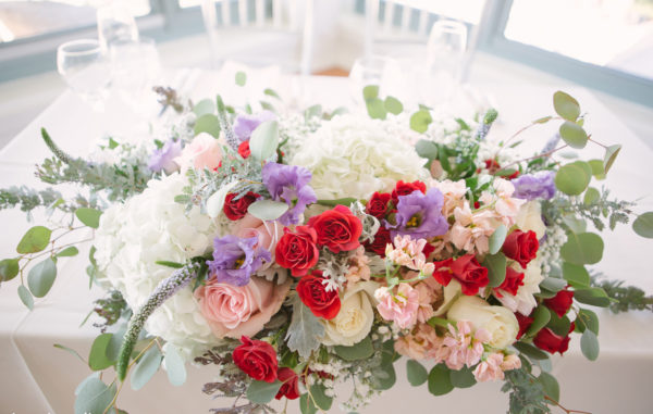 Rachel Cho Flowers | Floral Designer | sweetheart table centerpiece