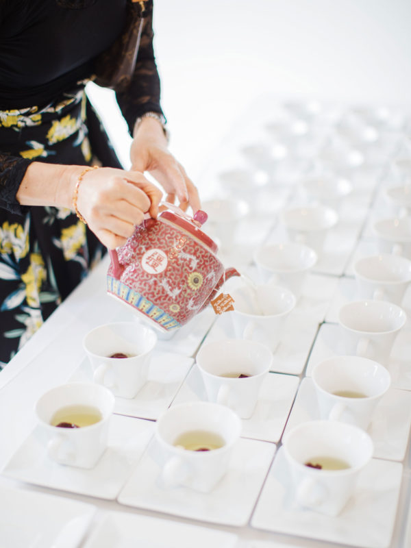 Rachel Cho Flowers   Floral Designer   tea ceremony