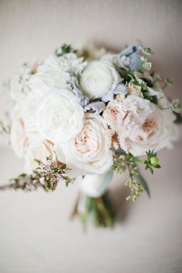 Rachel Cho Flowers   Floral Designer   white bridal bouquet