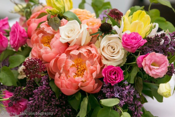 Rachel Cho Flowers | Floral Designer | spring centerpiece