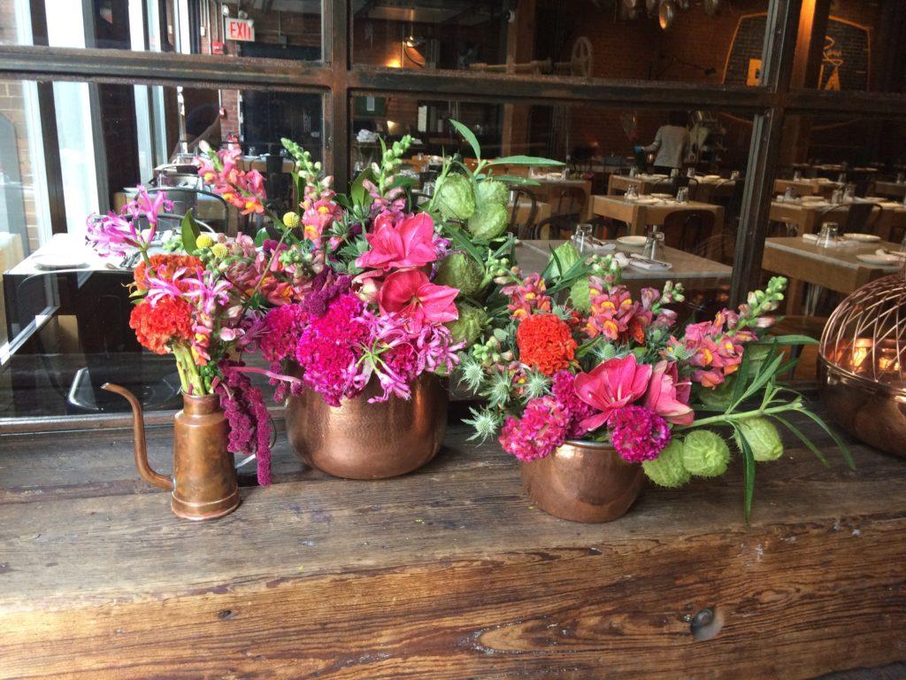 Rachel Cho Flowers | Floral Designer | eclectic centerpiece