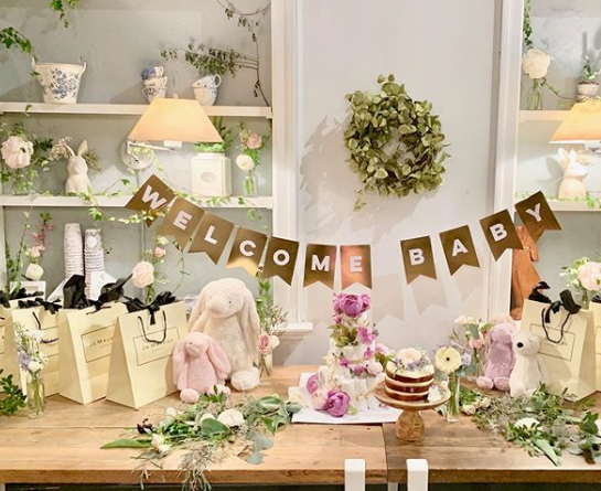 Rachel Cho Flowers | Floral Designer | baby shower