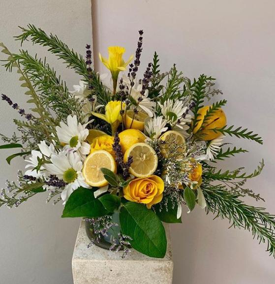 Rachel Cho Flowers | Floral Designer | fruit centerpiece