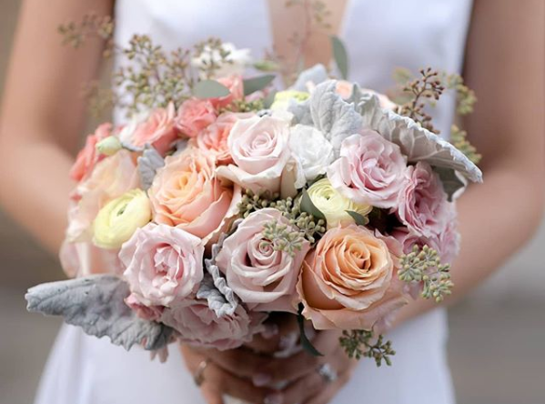 Rachel Cho Flowers | Floral Designer | spring bridal bouquet