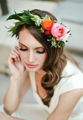How to Make Your Very Own Flower Crowns
