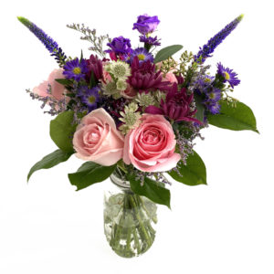colorful flower bouquet as flower ideas for first date